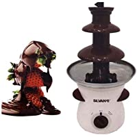 Fuente de chocolate 3 escalones electrica 500ml 80W fondue 37 x 19 cm