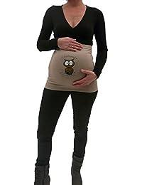 """La Belly Bauchband Baumwolle """" Nachteule """" Schwangerschaft Umstandsmode"""