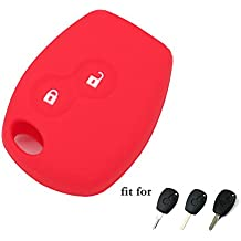 Funda de silicona Fassport, CV4350, para llaves de mando a distancia con dos botones de Renault Dacia.