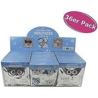 Kühlpacks 1 Diplay (36 Stück) - Kühlpad - Kühlakku - lustige Motive - 10,5x10,5 cm preisvergleich bei billige-tabletten.eu