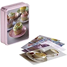 Hummingbird Bakery tinned notecards (Paperstyle Notecards in Tins) by Tarek Malouf (13-Aug-2009) Stationery