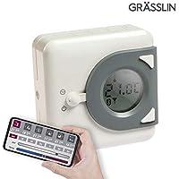 Grässlin 04.46.0023.1 - Termostato digital, color blanco y gris
