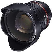 Samyang Objektiv Fisheye II DSLR Canon F 3.5 / 8 mm Fokussierlinse, schwarz
