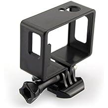 Gazechimp Accesorios para SJ4000 Wifi Acción Cámara Caja Protectora de Borde Cuerpo Lateral Montaje -Negro