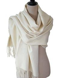Echarpe étole chale en laine et cachemire grande épaisse et chaude [Vêtements]