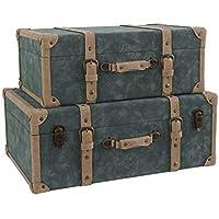 Adda Home Set 2 BAULES 67x45x26 / 58x37x22 CM - Muebles de Dormitorio precios