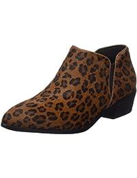 Cortefiel Pelo Leopardo, Botines para Mujer