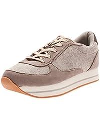 oodji Ultra Mujer Zapatos Deportivos de Materiales Combinados