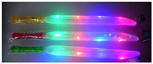 COOLMP Lot de 12 - Épée Lumineuse en Couleur B01N6F03EO 47cm B01N6F03EO Couleur 450857