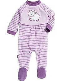 Playshoes Baby-Mädchen Schlafstrampler Schlafoverall Nicki Schaf