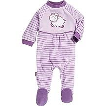 Playshoes Baby-M/ädchen Schlafoverall Single-Jersey Herzen Schlafstrampler