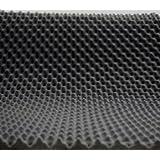 Akustikschaumstoff als Akustik Noppenschaumstoff - Platte 200x100x3cm (anth/schwarz) aus hochwertigem PUR-Schaumstoff