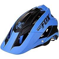 Ciclismo casco para mujer hombre, BATFOX Bicicleta Ciclismo Montaña | Cascos de bicicleta de carretera