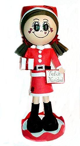 Muñeca Fofucha Personalizada Mama Noel