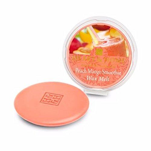 Heart & home-Cera di soia profumata melt Tart-utilizzare con cera e olio bruciatori (Peach mango