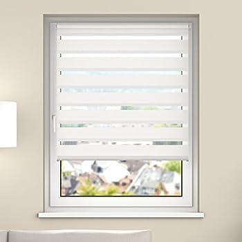Jalousien Zum Einhängen Ins Fenster amazon de tectake doppelrollo duo rollo klemmfix diverse größen
