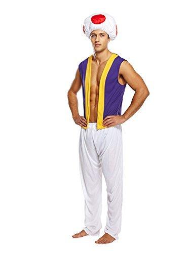 Waluigi Wario Kostüm Und - Pilz Kröte Kostüm - für Herren