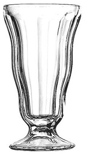 Anchor Hocking 562g Set of 6 Tall Ice Cream Sorbet Sundae Milkshake Glasses Tall Dish Cup by Anchor Hocking (Anchor Hocking-set)