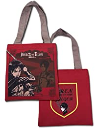 Preisvergleich für Tote Bag–Attack on Titan–NEUE Eren rot Anime Lizenzprodukt ge82273