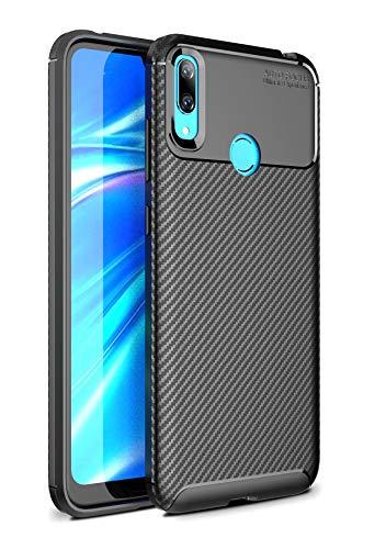 Case Collection Carbonfaser Design Hülle für Huawei Y7 2019 Hülle (6,26