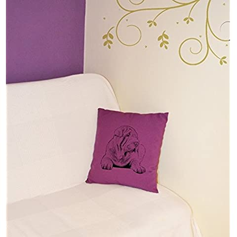 Shar Pei, il cuscino con il cane, decorazione domestica, tessuto di alta qualità, 5 colori