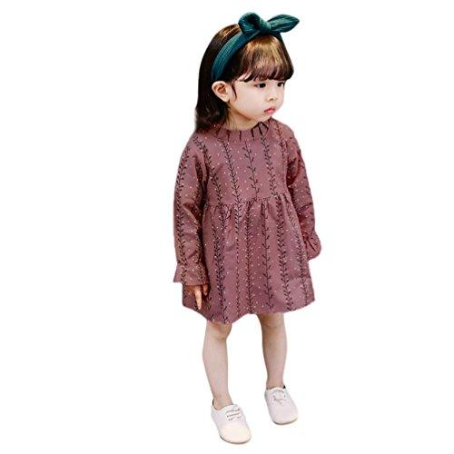 rex Kleinkind Kids Baby Mädchen Floral Prinzessin Kleider Kleidung, Kinder, rose, 18-24 Monate  (24 Monat Halloween-kostüm Ideen)