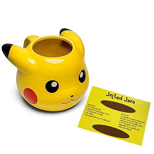 Pokemon geformt Gelb Pikachu Kaffee Tasse-14Oz