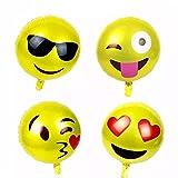 26 Stück Emoji Luftballon Wiederverwendbare 4...Vergleich