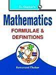 Mathematics Formulae & Definitions (RPH Pocket-Book/Handbook Series)