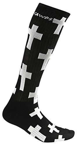 Powerslide Socken, Schwarz, S/M, 430011/3 (Hybrid Cross)