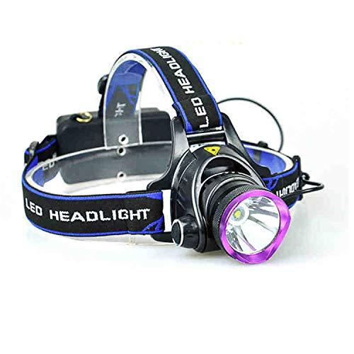 Cuixi lampade da testa led torcia frontale usb ricaricabile t6 glare led a lunga portata 18650 impermeabile ultraleggero