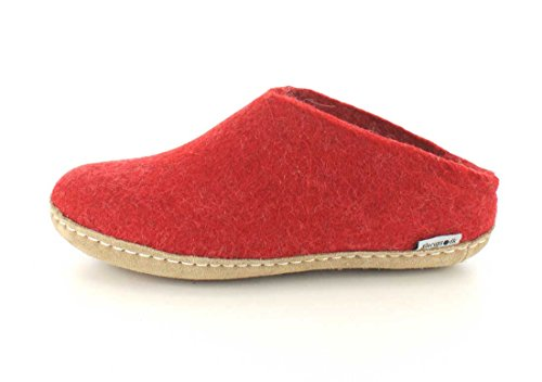 Chaussons Chaussons Glerups Glerups pour femme Rouge Glerups Chaussons femme pour Rouge pour UqE4fxO