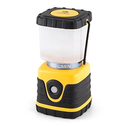 Yukatana yantila • lampada da campeggio • lampada da esterno • ideale per la pesca • escursionismo notturno • maniglia per trasporto • resistente agli agenti atmosferici • batteria al litio • giallo
