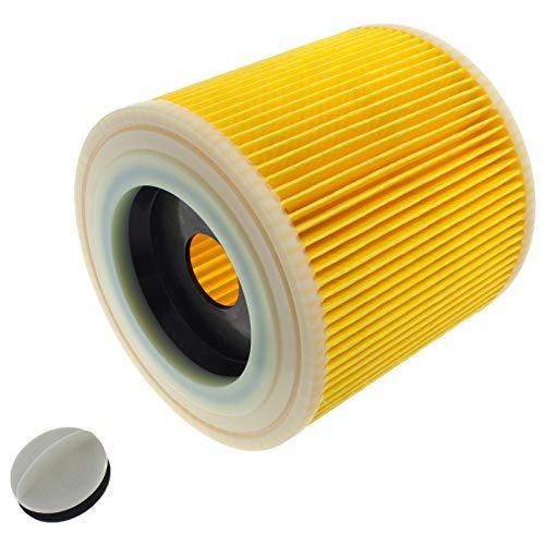Smartfox Patronenfilter für Kärcher Staubsauger Nass- Trockensauger Waschsauger WD 2, WD 3, SE 4001, SE 4002 UVM. ersetzt 6.414-552.0