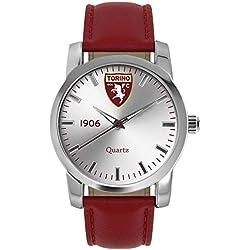 Torino Calcio Herren -Armbanduhr Analog Quarz Leder T6398US1