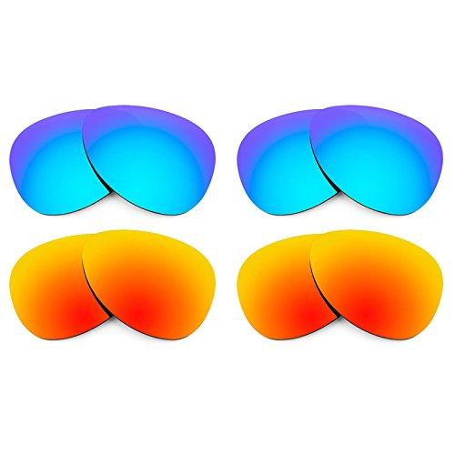 Revant Ersatzlinsen für Oakley Daisy Chain Polarisiert 4 Paar Kombipack K022