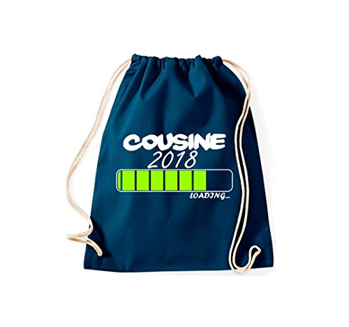 Cousine 2018 Turnbeutel; loading viele Farben Navy drqr50