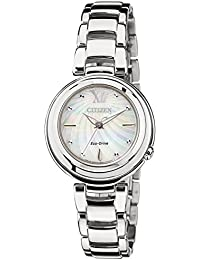 Citizen Damen-Armbanduhr XS Citizen L Analog Quarz Edelstahl EM0331-52D