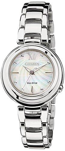 Citizen orologio da polso da donna xs citizen l analogico quarzo acciaio inossidabile em0331–52d