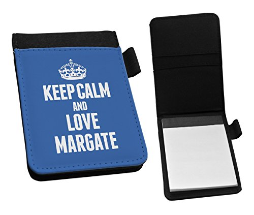 BLUE Keep Calm and Love Margate Small Notepad 0421