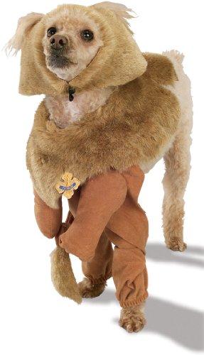 Rubie's Kostüm Zauberer von Oz Cowardly Lion Haustier Kostüm groß (Zauberer Von Oz Kostüm Hund)