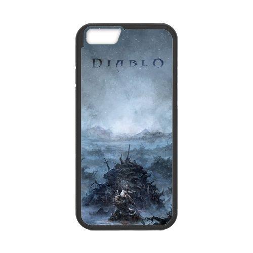 Diablo coque iPhone 6 Plus 5.5 Inch Housse téléphone Noir de couverture de cas coque EBDXJKNBO09227