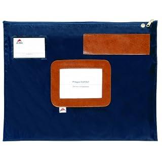 Alba Mehrweg-Versandtasche/POPLATB 42x32 cm blau wasserfestes Nylon