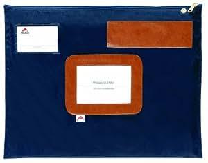 Alba Poplat B Pochette courrier plate 30 x 42 cm Bleu