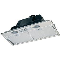 FABER S.p.A. Inca Plus HIP X A52 580 m³/h Intégré Acier inoxydable - Hottes (580 m³/h, 52 dB, 59 dB, 69 dB, Intégré, Acier inoxydable)