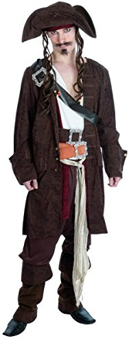 RUM SMUGGLER PIRATE Adult Fancy Dress Costume All (Adult Pirate Dress Fancy)