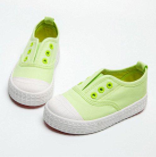 d648133f934b YC gut Jungen Mädchen Kinder Leinwand Schuhe-Sneakers, knöchelfrei Sneakers  Unisex Schuhe Flach Pumpen ...