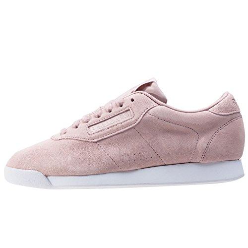 Reebok Princess Eb, Scarpe da Corsa Donna Multicolore (Shell Pink/Whisper Grey/White)