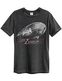 Amplified - T-shirt - Homme Noir Charbon