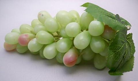 Grand Bouquet artificiel Vert raisins décoratifs Fruits